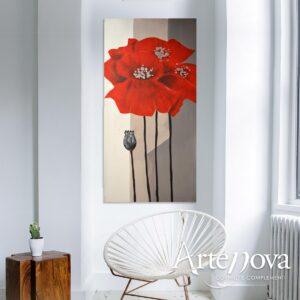 Fiore dipinto art.D111