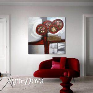 Astratto dipinto art.D122