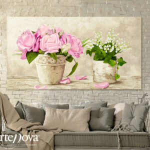 Quadro moderno floreale 2DO2524
