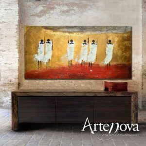 Astratto dipinto m art. D137
