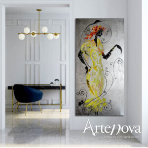 Dama dipinta  art.D138