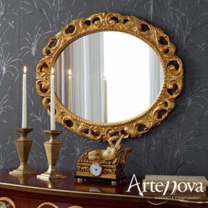 Specchio ovale stile Barocco Mod.621
