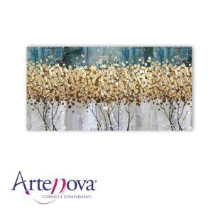 Quadro moderno floreale Golden tree