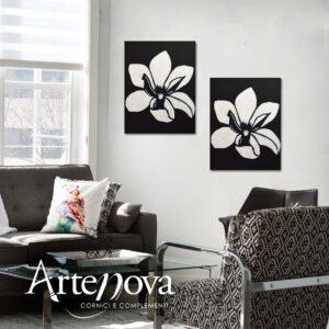 Fiore dipinto art.D142